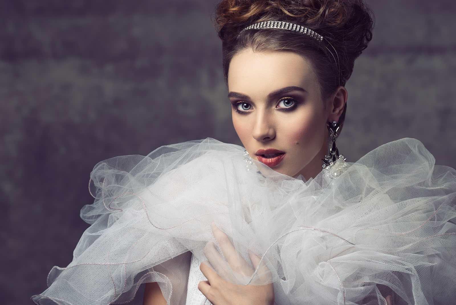 Charming Aristocratic Vintage Woman