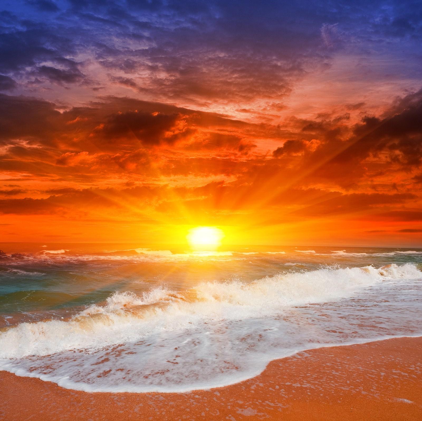 Evening Ocean Sunset