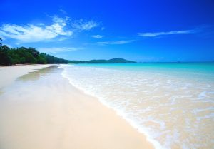 Beautiful Beach With Crystal Clear Water